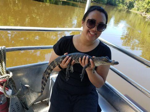 Cajun Swamp Tours. Gators!